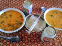 тайский острый суп Том Ям